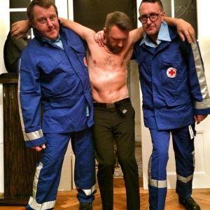 Подробнее: Пьяного Сергея Шнурова забрала «скорая помощь» (видео)