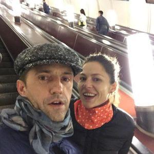 Подробнее: Владимир Вдовиченков и Елена Лядова катаются на метро незамеченными