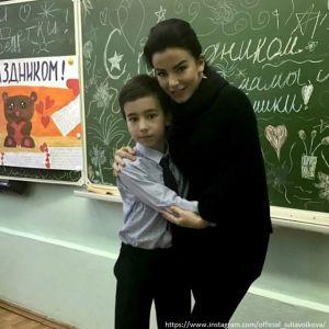 Подробнее: Юлия Волкова похвасталась успехами сына в учебе