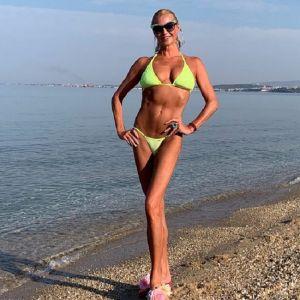 Подробнее: Анастасия Волочкова сделала вертикальный шпагат в бикини на мосту