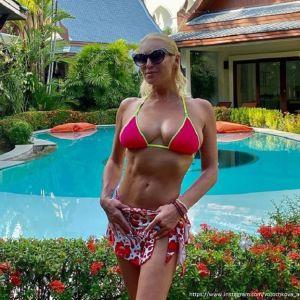 Фото Анастасии Волчковой в бикини. Подробнее: Анастасия Волочкова назло хейтерам поделилась фото топлес