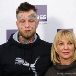 Подробнее: Сын Елены Яковлевой сделал новые татуировки на лице