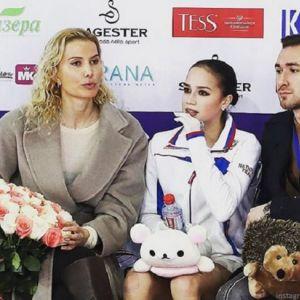 Подробнее: Чемпионат России: Алина Загитова заняла пятое место, а ЕвгенияМедведева - седьмое