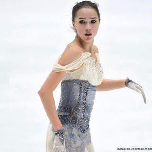 Подробнее: Алина Загитова лидирует в короткой программе на турнире Гран-при в Хельсинки