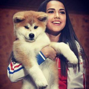 Подробнее: Алина Загитова начала тренироваться вместе со своей собакой (видео)